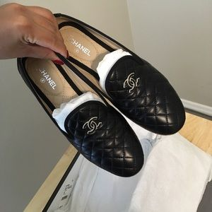 CHANEL Shoes - Chanel Quilted Loafers